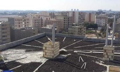 نحوه شیب بندی ساختمان