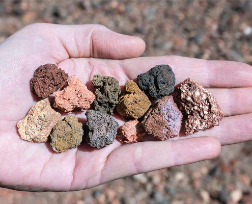 چگونه پوکه معدنی را تهیه کنیم
