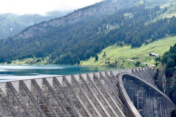 کاربرد پوکه معدنی در ساخت سد آبی